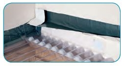 Corrugated Roof Sealing Amp Ariel Foam Fillers Are Used