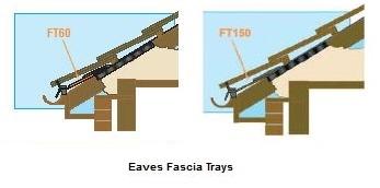 Eaves Fascia Tray X 1500mm Harcon Eaves Ventilation