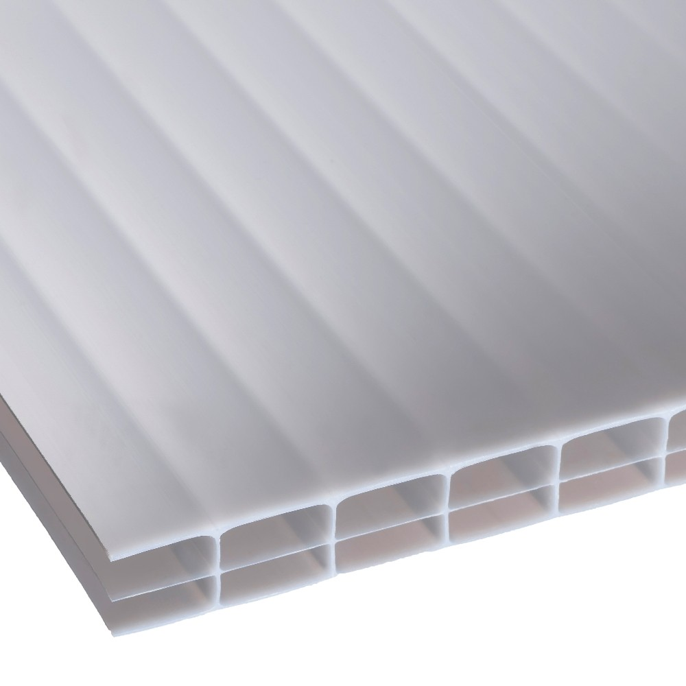 16mm Opal Triplewall Polycarbonate Sheet 980mm Roofing