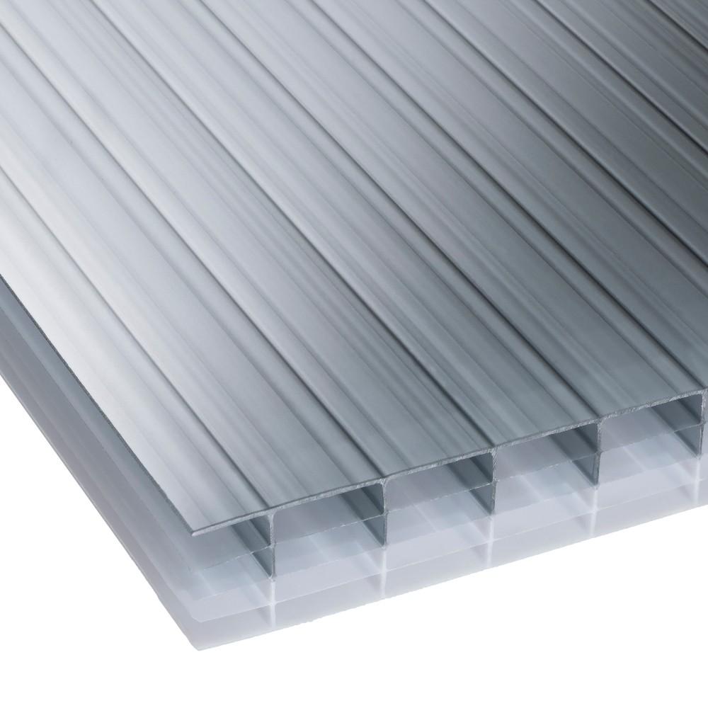 25mm Heatguard Opal Multiwall Polycarbonate Sheet 2100mm