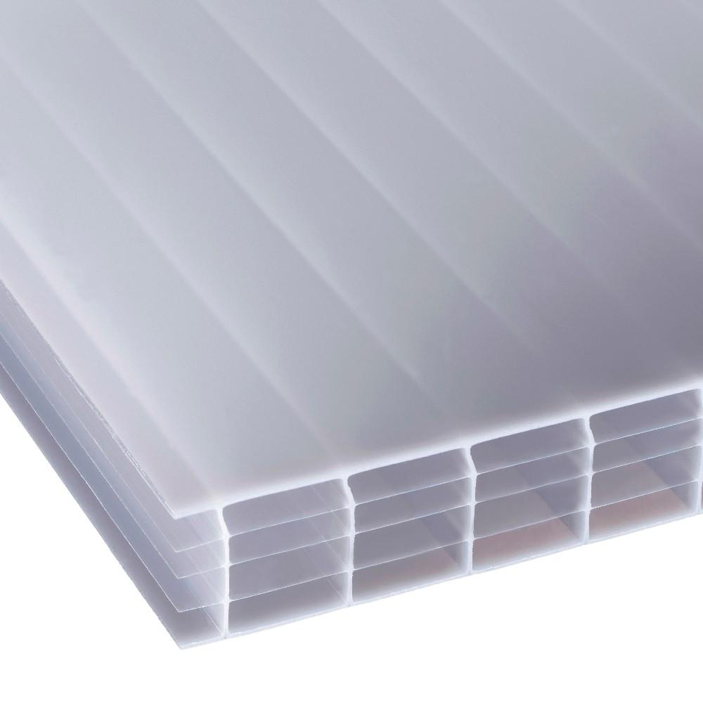 25mm Opal Multiwall Polycarbonate Sheet 900mm Wide