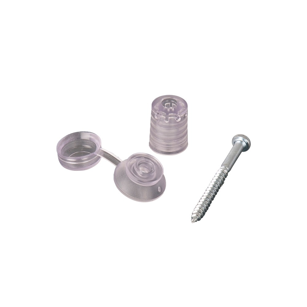Corrugated Polycarbonate Fixings Pack of Ten