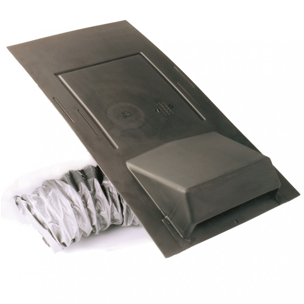 Economy Slate Vent 600mm X 300mm With 110mm Pipe Adaptor