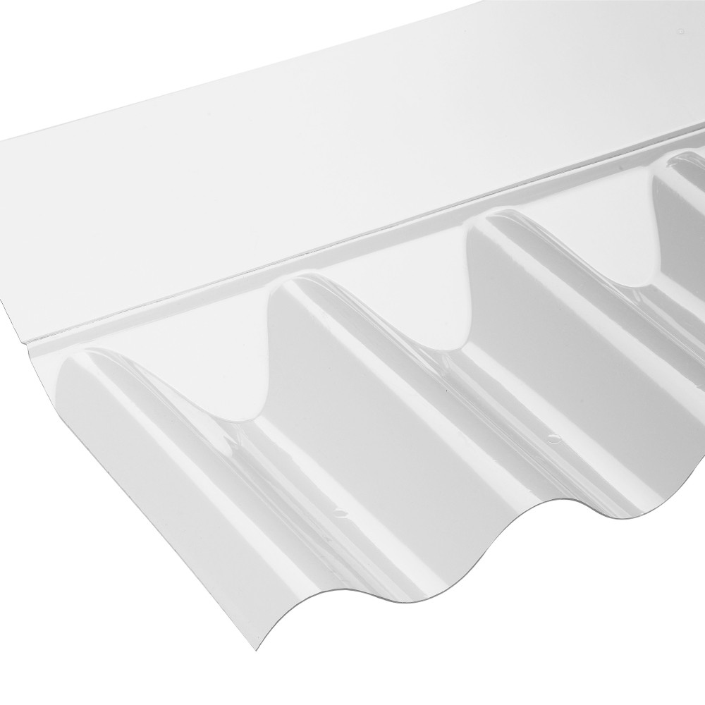 Iron 8 3 Profile Pvc Clear Wall Flashing Roofing Ventilation