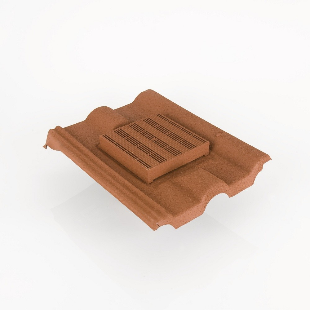 Redland Double Roman In Line Roof Tile Vent Roofing