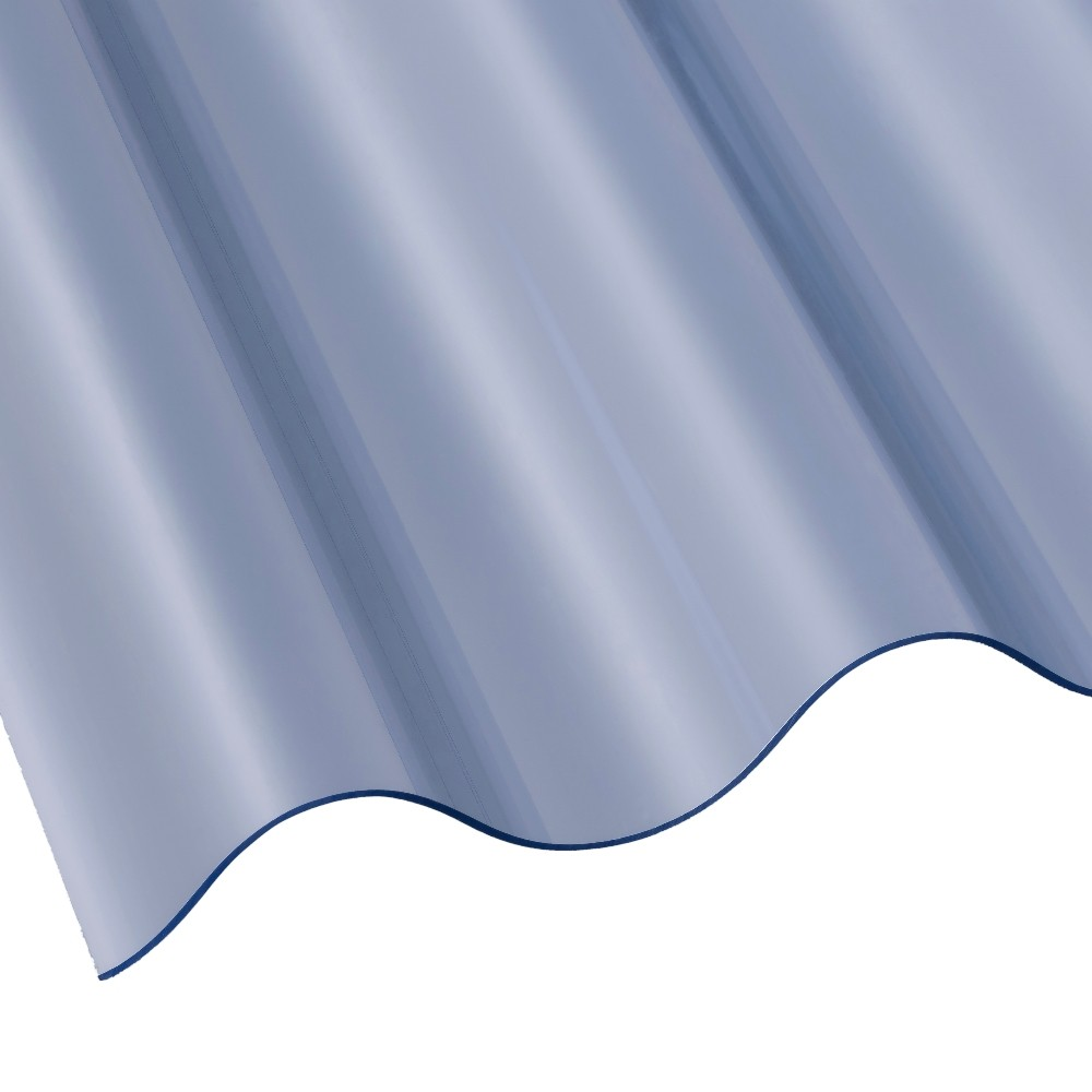 3 Inch Corrugated Pvc Roof Sheet Superweight Roofing