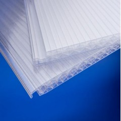 16mm Clear Clickfit Polycarbonate Sheet 3000mm x 500mm