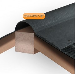 Corrapol BT Corrugated Bitumen Roof Ridge