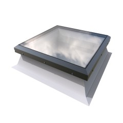 triple glazed dome rooflight with sloping kerb 600mm x 600mm
