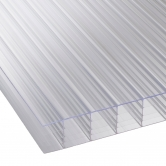 25mm Clear Multiwall Polycarbonate