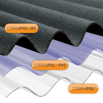 Corrapol Roof Sheet Range